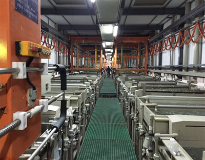 Automatic Copper Nickel Chrome electroplating line