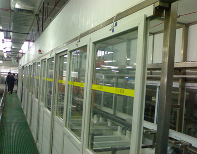 Automatic single arm electroplating line