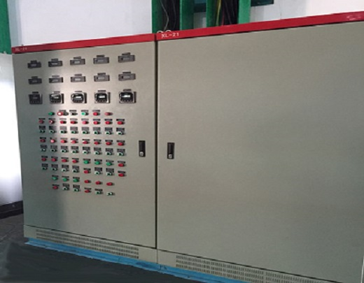 Reclaimed water control panel
