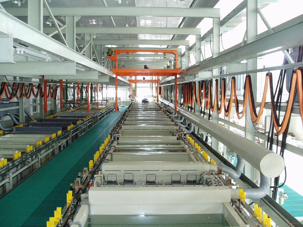 How many kinds of electroplating production lines ?